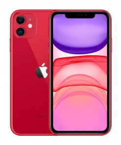 điện thoại di động iphone 11 64g/128g đỏ quốc tế