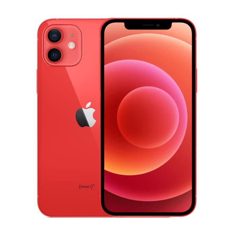 điện thoại di động iphone 12 64g/128g/256g đỏ quốc tế