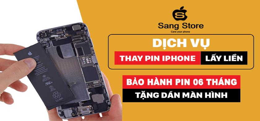 thay pin iphone quảng ngãi giá rẻ
