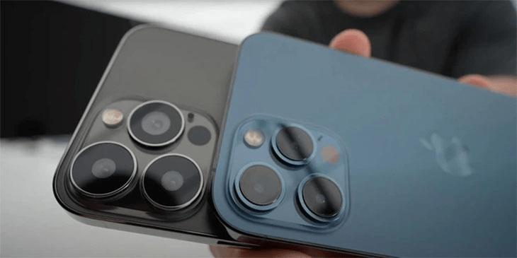 cụm camera sau của iphone 13 mini pro max