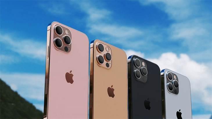 màu sắc của iphone 13 mini pro max